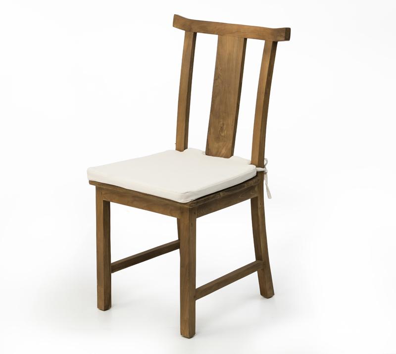 כיסא אוכל מעץ מלא