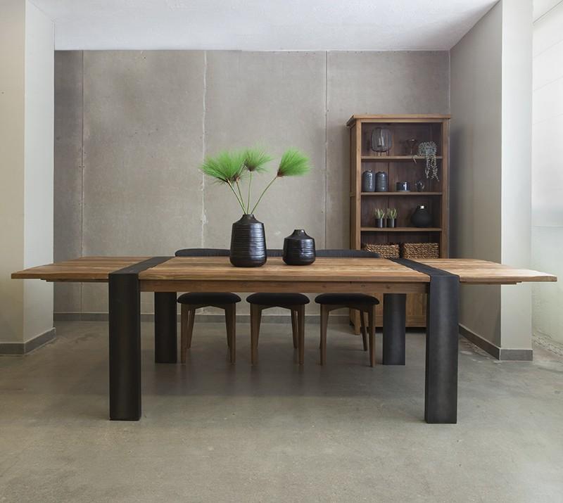 שולחן פינת אוכל עם הרחבות
