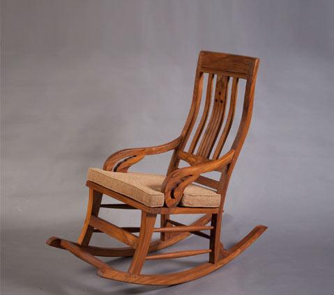 ענק כסאות עץ עם ריפוד בד ועור | וסטו ריהוט עץ מלא AR-79