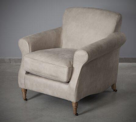 כורסא מרופדת קלאסית