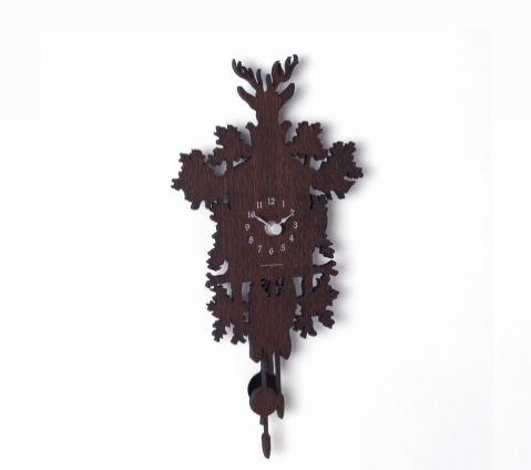 שעון קיר Mignon שחור
