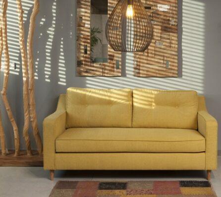 ספה Marilyn צהובה