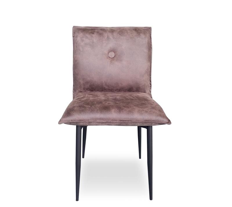 כסא עור ורוד