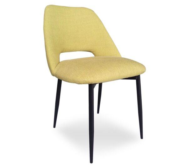 כסא בד מרופד