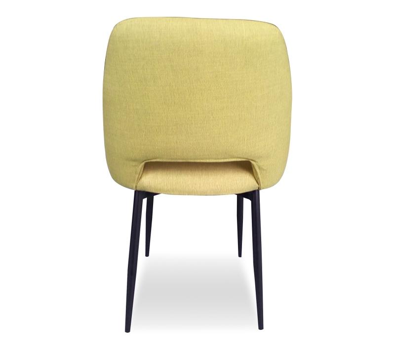 כסא בד צהוב