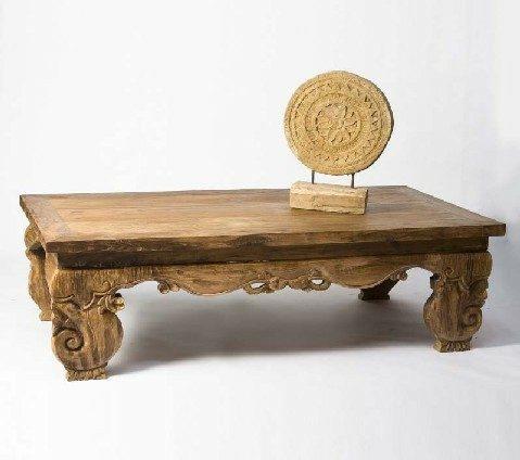 שולחן סלון אינדונזי