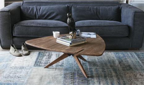 שולחן סלון בעיצוב רטרו