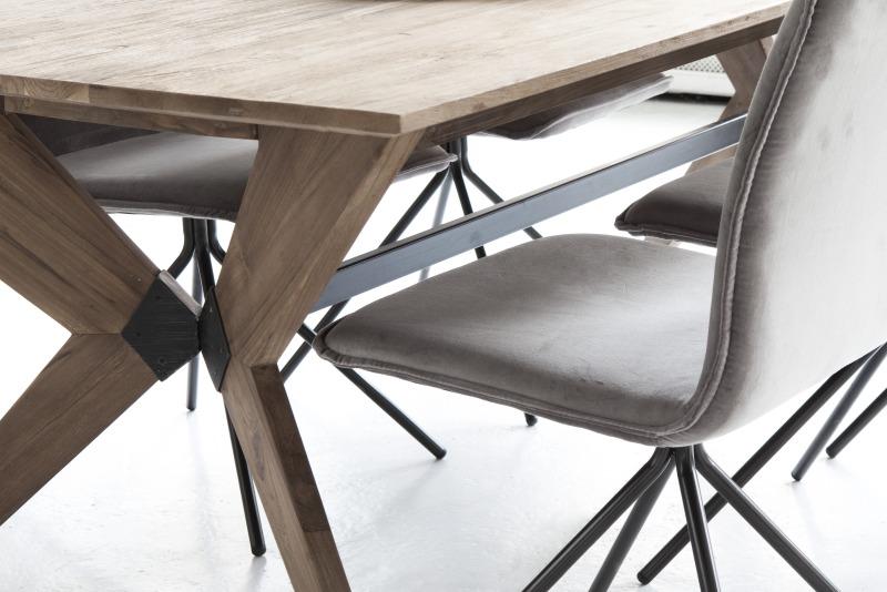 שולחן אוכל רטרו מעץ