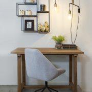 שולחן עבודה כפרי מעץ מלא