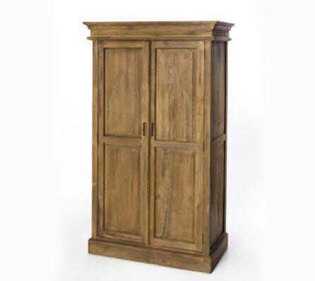 ארון 2 דלתות מעץ מלא