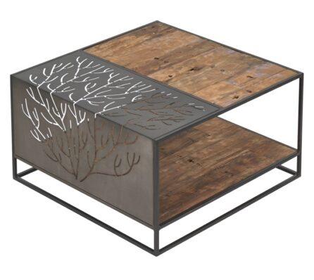 שולחן סלון מרובע