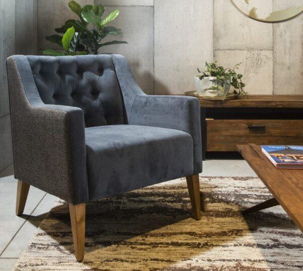 כורסא מעוצבת קפיטונז'