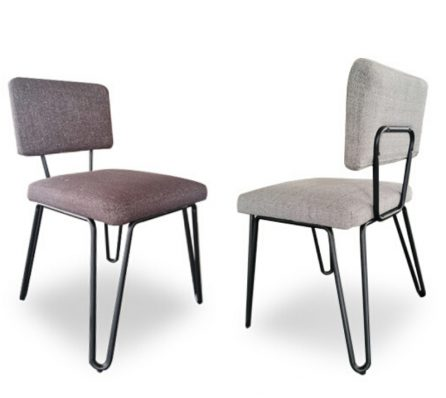 כיסא משולב מסגרת ברזל