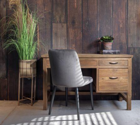שולחן עבודה מגירות עץ מלא