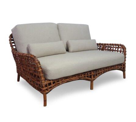 ספה נוחה משולבת ראטן