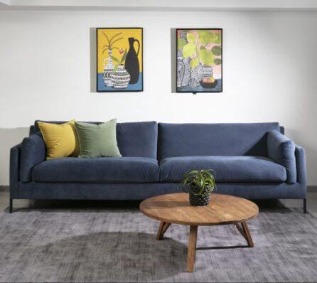 ספה מרופדת לסלון