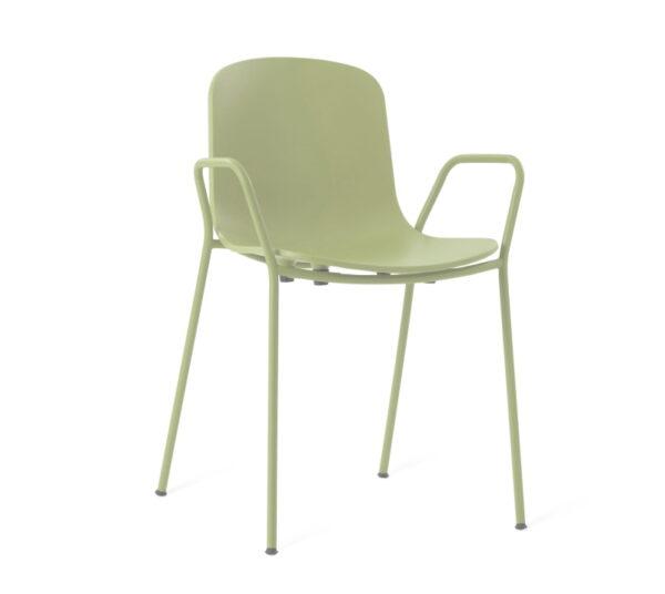 כיסא אוכל צבע ירוק זית