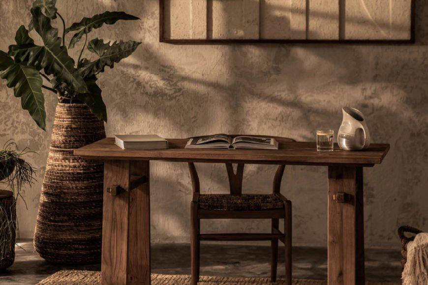 קולקציית שולחנות עץ Artisan